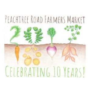 Peachtree Road Farmer's Market reusable bag design contest